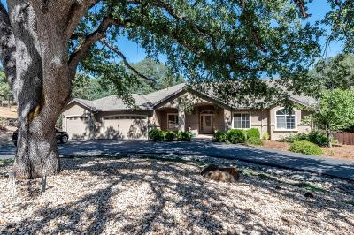 Placerville Single Family Home For Sale: 3520 White Oak Ridge Road