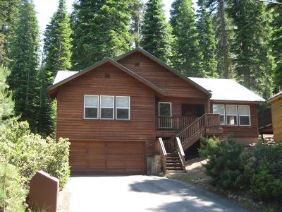 Truckee Single Family Home For Sale: 14037 Hansel Avenue