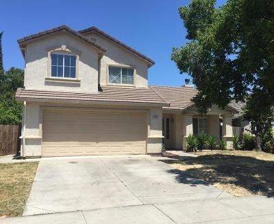 Stockton Single Family Home For Sale: 1867 William Moss Boulevard