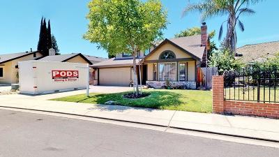 Modesto Single Family Home For Sale: 1725 Pantaleo Drive