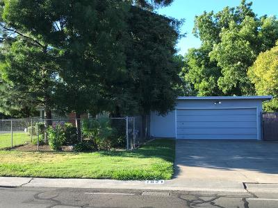 Carmichael Single Family Home For Sale: 4821 El Camino