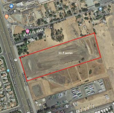 Stockton Commercial Lots & Land For Sale: 4100 South State Route 99 E Fr Road