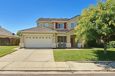 Manteca Single Family Home For Sale: 894 Shortland