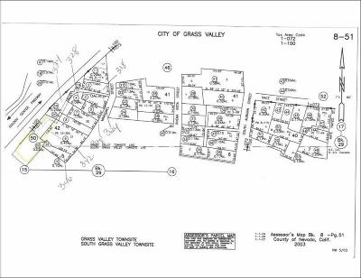 Grass Valley Residential Lots & Land For Sale: 348 Marshall Street