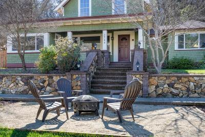 Single Family Home For Sale: 2744 Coloma Street