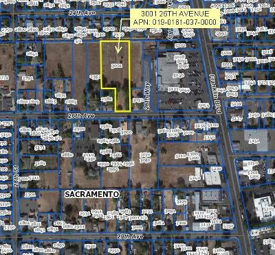 Sacramento Residential Lots & Land For Sale: 3001 26th Avenue