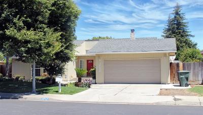 Modesto CA Single Family Home For Sale: $379,900