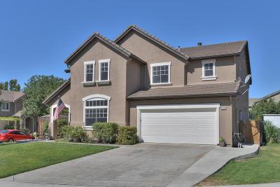 Tracy Single Family Home For Sale: 3933 Memoir Court
