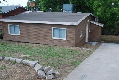 Oakdale Single Family Home For Sale: 2324 Twildo