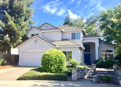 Davis Single Family Home For Sale: 2130 Saratoga Place