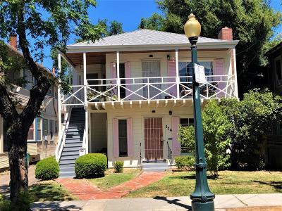 Stockton Multi Family Home For Sale: 227 East Vine Street