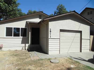 Single Family Home For Sale: 2971 San Jose Way
