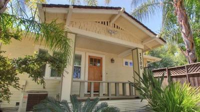 Single Family Home For Sale: 3300 V Street