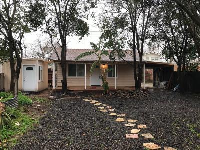 Sacramento Single Family Home For Sale: 610 El Camino Avenue