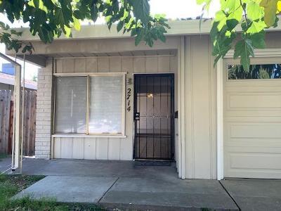 Rancho Cordova Multi Family Home For Sale: 2714 Bravado Drive