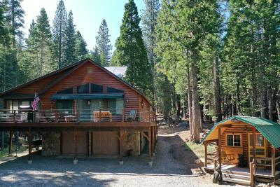 Nevada County Single Family Home For Sale: 14011 Fuller Lake Road
