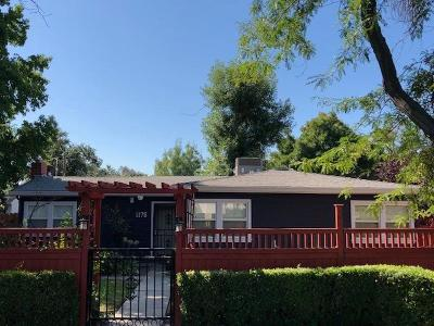 Single Family Home For Sale: 1176 Middlefield Avenue