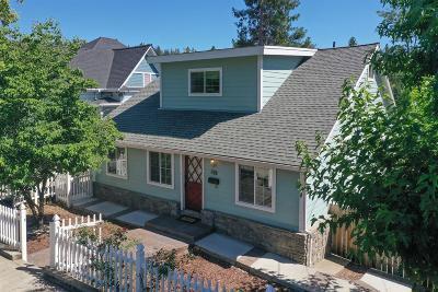 Grass Valley Single Family Home For Sale: 312 Bennett Street
