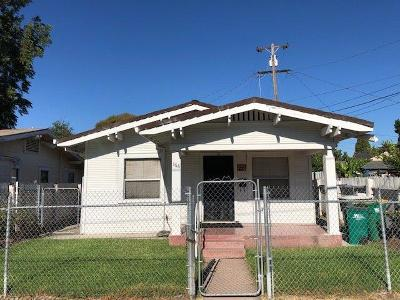 Stockton Single Family Home For Sale: 368 South East Street