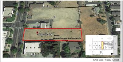Turlock Residential Lots & Land For Sale: 1366 Geer Road