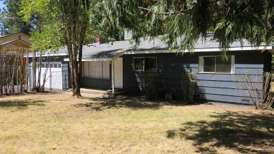 Placerville CA Single Family Home For Sale: $319,000