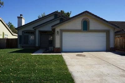 Tracy Single Family Home For Sale: 1770 Tennis Lane