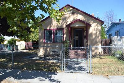 Stockton Single Family Home For Sale: 1432 South Aurora Street