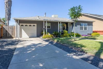 Modesto CA Single Family Home For Sale: $250,000