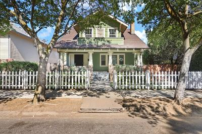 Stockton Single Family Home For Sale: 1022 South Grant Street