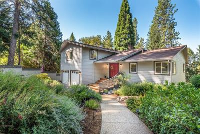 Nevada City Single Family Home For Sale: 12288 Gayle Lane