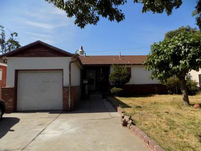San Joaquin County Single Family Home For Sale: 1621 Julian Street