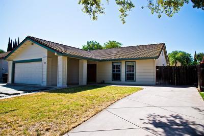 Tracy Single Family Home For Sale: 490 Mahogany Lane