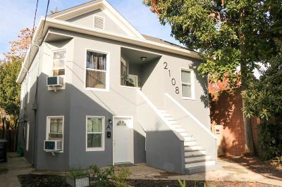Sacramento Multi Family Home For Sale: 2108 19th Street