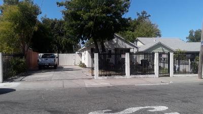 Single Family Home For Sale: 5160 Mendocino Boulevard
