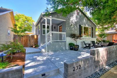 Sacramento Single Family Home For Sale: 232 33rd Street