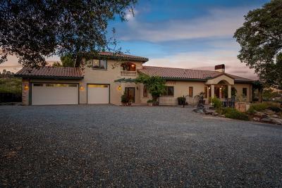 Shingle Springs Single Family Home For Sale: 8580 Latrobe Road