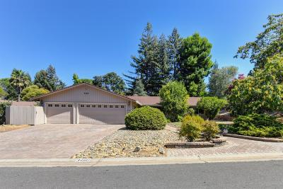 El Dorado Hills Single Family Home For Sale: 3460 Mesa Verdes Drive