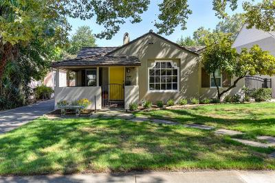 Single Family Home For Sale: 2707 Land Park Drive