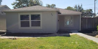 Tracy CA Single Family Home For Sale: $375,000