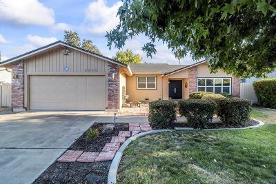 Stockton Single Family Home For Sale: 3326 Bixby Way