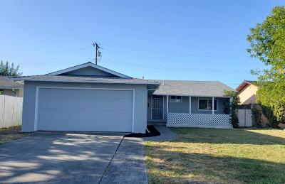 Vacaville CA Single Family Home For Sale: $364,900