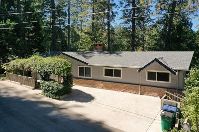 Grass Valley Single Family Home For Sale: 578 Partridge Road