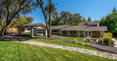 Granite Bay Single Family Home For Sale: 8135 Barton Road