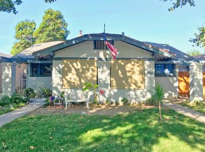 Stanislaus County Multi Family Home For Sale: 241 Bodem Street
