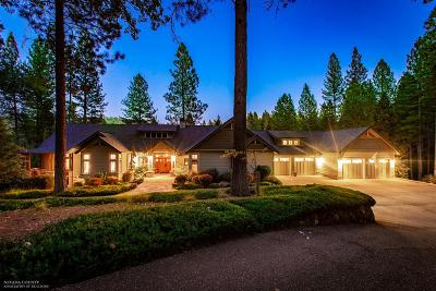 Nevada City Single Family Home For Sale: 18625 Rock Creek Road
