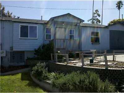 Ocean Beach Rental For Rent: 4652 Niagara Avenue