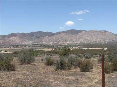 Ranchita Residential Lots & Land For Sale: Montezuma Valley Road #197-160-