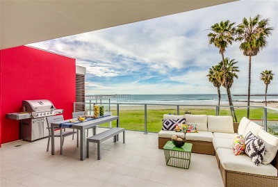 Ocean Beach Rental For Rent: 5115 Saratoga Avenue #6