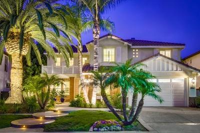 La Costa Valley Single Family Home Sold: 8023 Sitio Caucho
