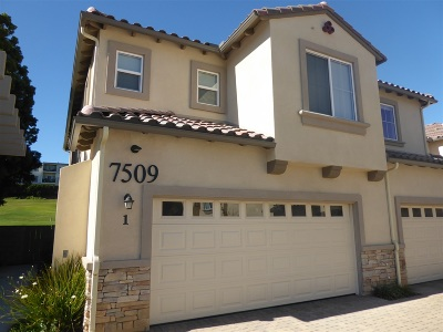 La Costa Rental For Rent: 7509 Jerez Ct. #1